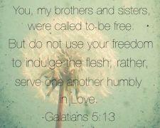 Galatians 5-13