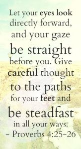 Proverbs 4-25