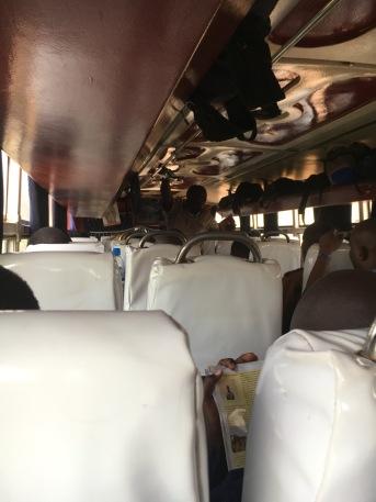 Inside the YY coach